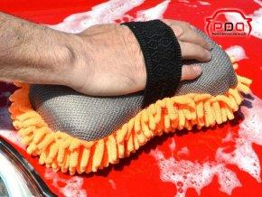 Houba z mikrovlákna 2v1 na šetrné mytí automobilů KENCO