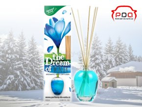 Aroma difuzér The Dream of Winter Zima bytová vůně Natural Fresh