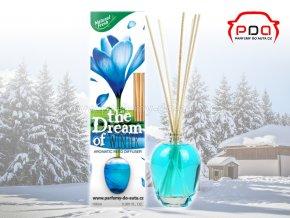Aroma difuzér The Dream of Winter Zima bytová vůně Natural Fresh
