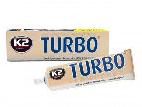 K2 Turbo leštící pasta na obnovu laku s obsahem vosku