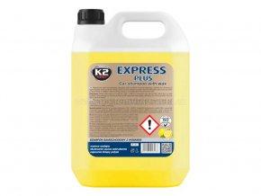 K2 Express Plus autošampon s voskem koncentrát 5 litrů hustá pěna
