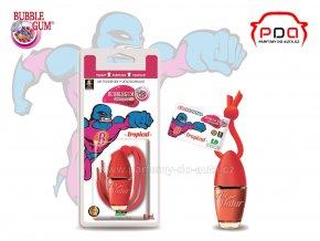 Little Bottle Bubblegum Tropical žvýkačková vůně do auta tropické ovoce