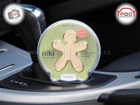Panáček Niki Fashion Fresh Air zlatý Mr Mrs Fragrance