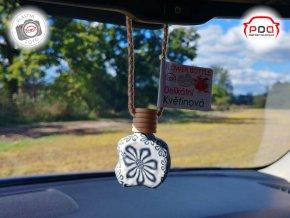 Flower Bottle Santalové dřevo závěsná vůně do auta PDA cz