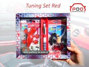 Dárkové balení sada vůní do auta Tuning Set Red