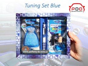 Dárkové balení sada vůní do auta Tuning Set Blue