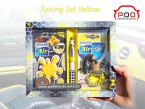 Dárkové balení sada vůní do auta Tuning Set Yellow žlutý