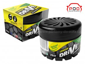Drive Gel Lemon Citrón gelová vůně do auta