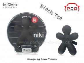 Panáček Niki Black Tea - černý čaj - vůně do auta Mr Mrs Fragrance