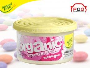 Organic Pure Bubblegum žvýkačky vonná plechovka do auta