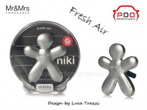 Panáček Niki Fresh Air - svěžest - vůně do auta Mr Mrs Fragrance