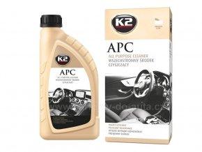 APC K2 univerzální čistič na interiér i exteriér auta ph neutrální
