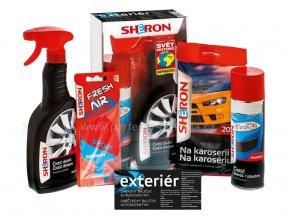 Dárkové balení sada autokosmetiky Sheron pro exteriér