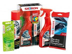 Dárkové balení sada autokosmetiky Sheron pro interiér