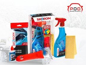Dárkové balení autokosmetiky Sheron zima