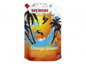 letní směs do ostřikovačů Sheron Orange power 2 litry