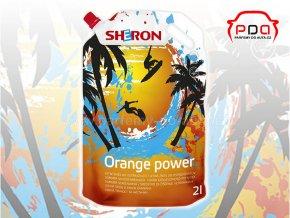 letní směs do ostřikovačů Orange power Sheron