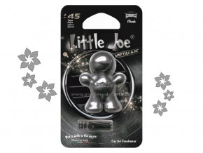 Little Joe Metalic Musk pižmo šedý panáček do auta