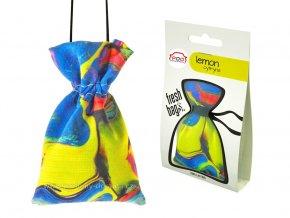 Fresh Bags ABSTRACT Lemon pytlík ReadySteady