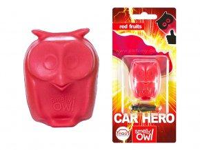 Sovička vůně do auta Smelly Owl Red Fruit ovoce