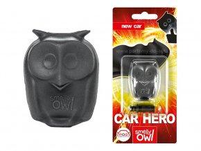 Sovička vůně do auta Smelly Owl New Car nové auto
