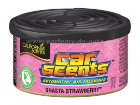 Car Scents Shasta Strawberry - Jahoda
