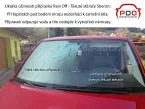 Tekuté stěrače - Rain off - Sheron