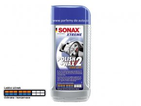 SONAX Polish Wax 2 nonovosk a leštěnka