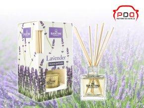 Santini Lavender levandule bytový aroma difuzér