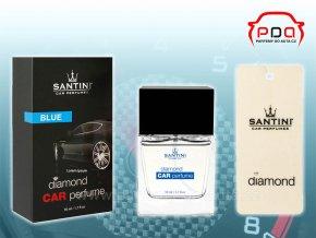 Santini Diamond Car Perfume Blue modrý autoparfém