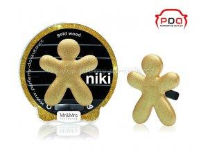 Panáček Niki Gold Wood - Zlaté dřevo