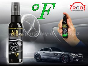 Parfém luxusní vůně do auta Air Car Perfume F Fahrenheit