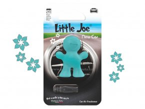 Little Joe New Car nové auto modrý panáček do auta