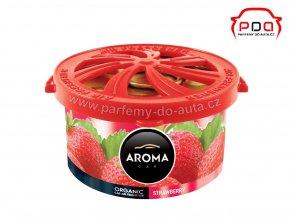 Aroma Car Oragnic STRAWBERRY