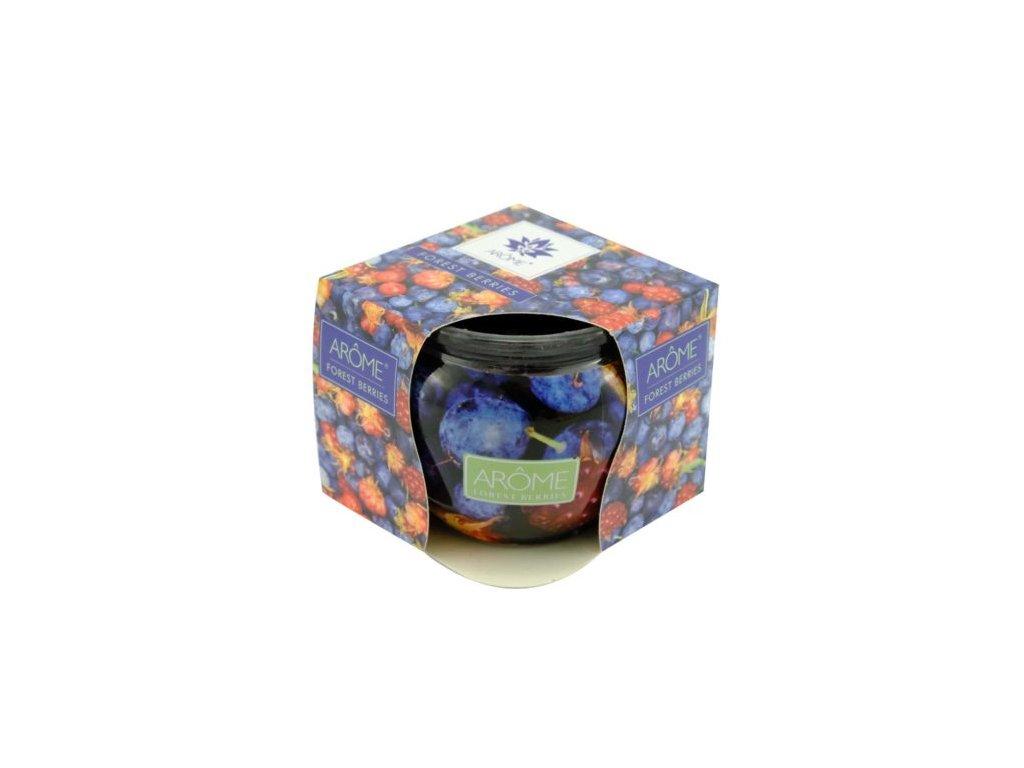 ARÔME - Erdei gyümölcsök  Illatgyertya dobozban 85 g