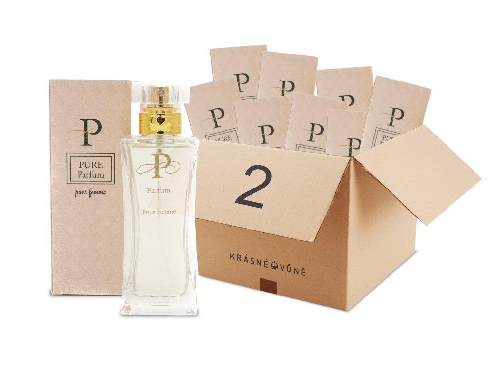 PURE kedvezményes parfüm csomag 2  9X Pure Parfüm 50 ml
