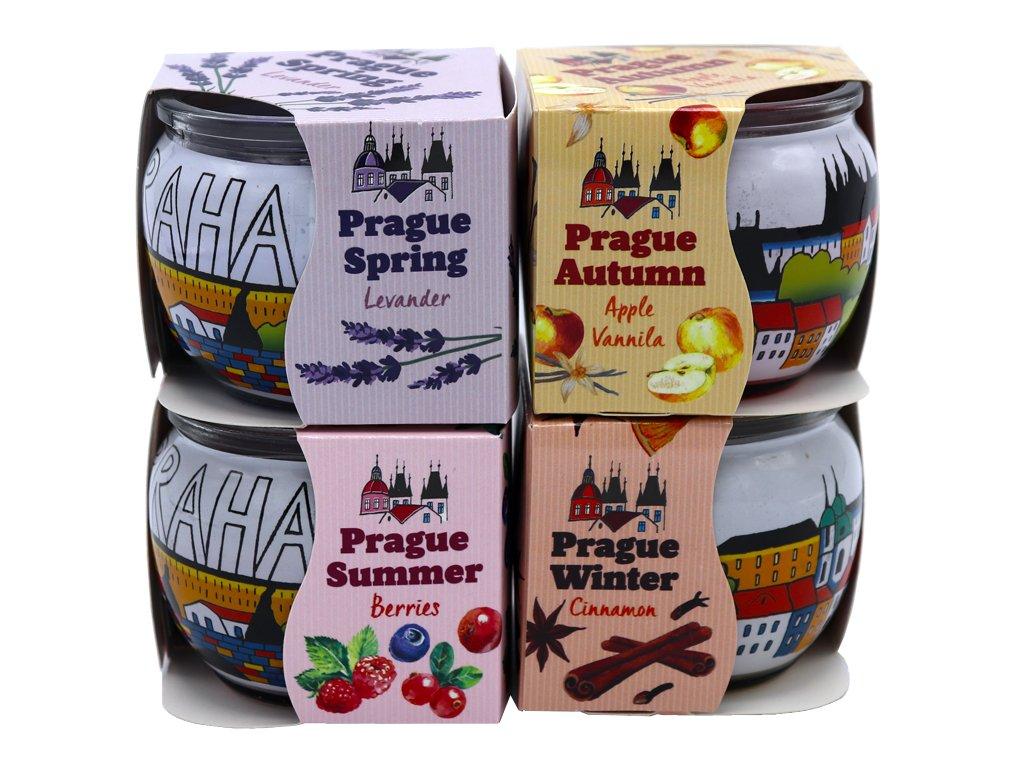 Prague 4 Seasons (4v1)  4x Illatgyertya 85 g
