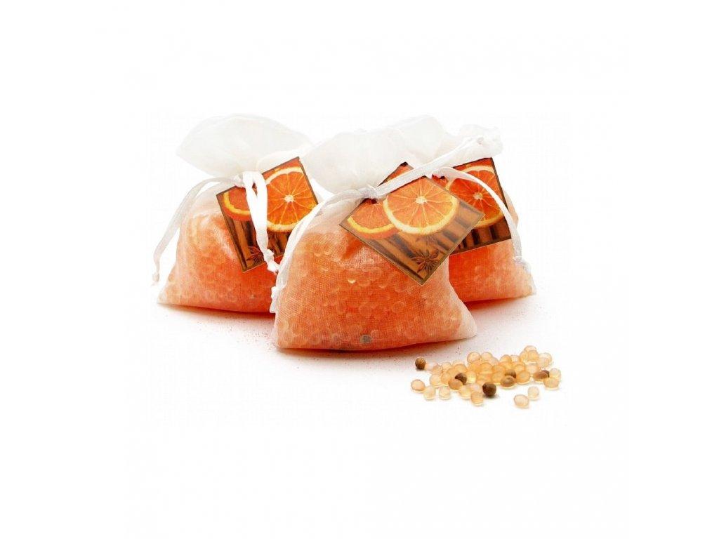 ORGANZA - Narancs és fahéj  Illatzsák 30 g