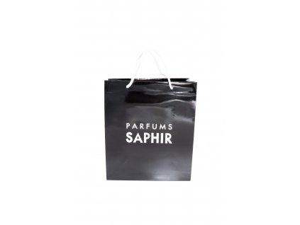 SAPHIR Fekete Ajándéktáska  Ajándék táska