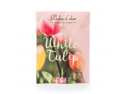 BOLES D´OLOR - Fehér tulipán  Illatzsák