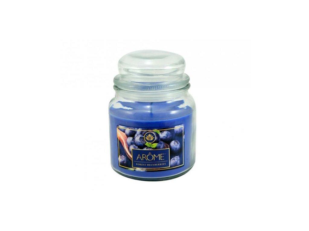 ARÔME - Coacăze negre - Lumânare parfumată 424 g