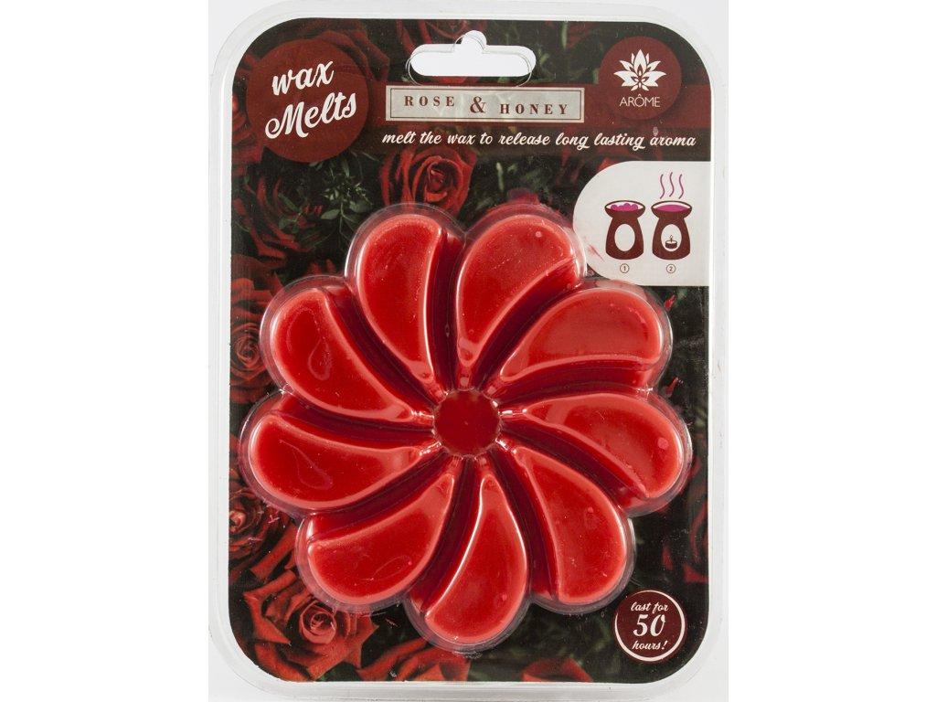ARÔME - Trandafir & Miere - Ceară parfumată 85g
