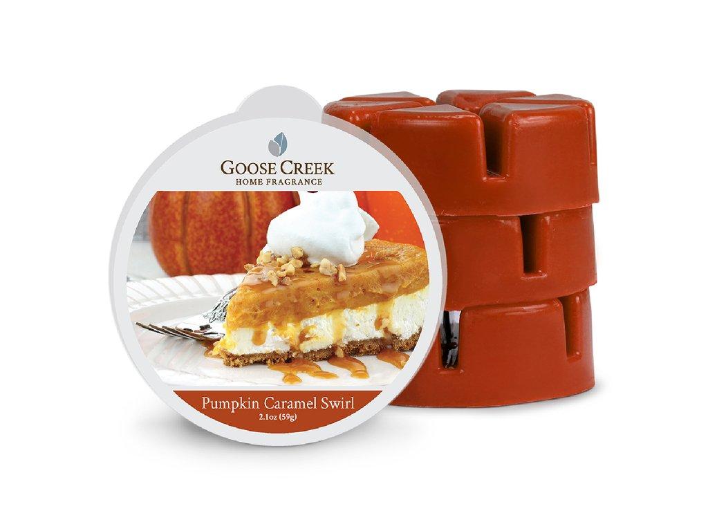 Goose Creek - Pumpkin Caramel Swirl  Ceară parfumată 59 g