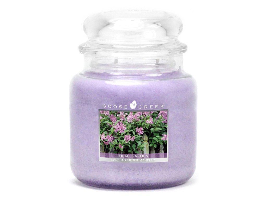 Goose Creek - Grădină cu liliac - Lumânare parfumată 450 g