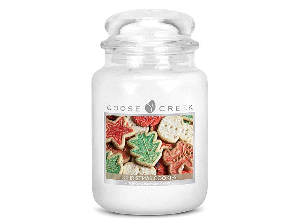 Goose Creek - Christmas Cookies  Lumânare parfumată 680 g
