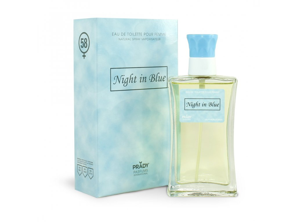 COLONIA NIGHT IN BLUE FEMME
