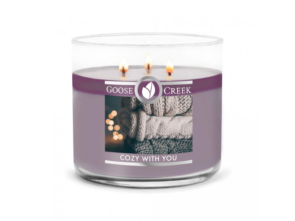 Goose Creek - Cozy With You  Lumânare din soia - 450 g