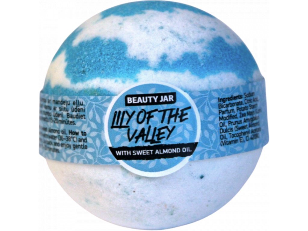 Beauty Jar - LILY OF THE VALLEY  Bombe de baie 150 g