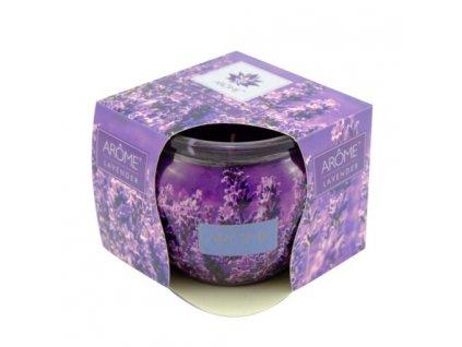 ARÔME - Lavandă - Lumânare parfumată 85 g