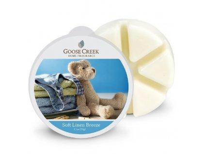 Goose Creek - Soft Linnen Breeze  Ceară pentru lampă de aromaterapie 59 g